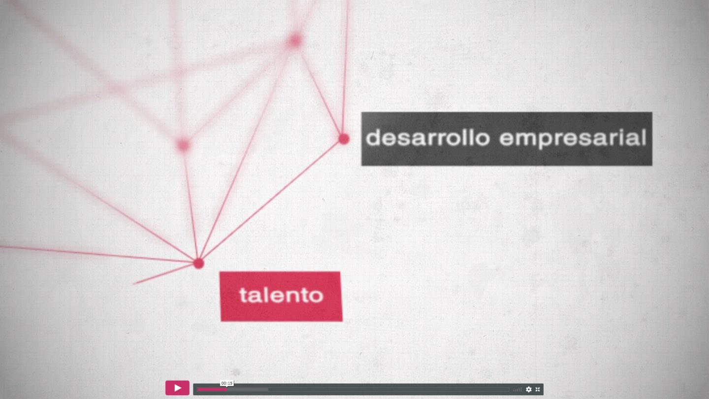 banco Santander Universidades y Universia motion graphics vfx visual loop